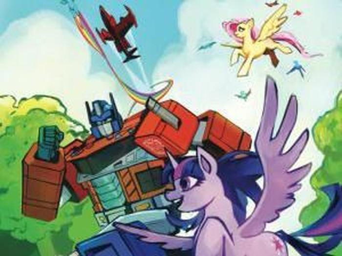 Crossover My Little Pony Dan Transformers Diumumkan