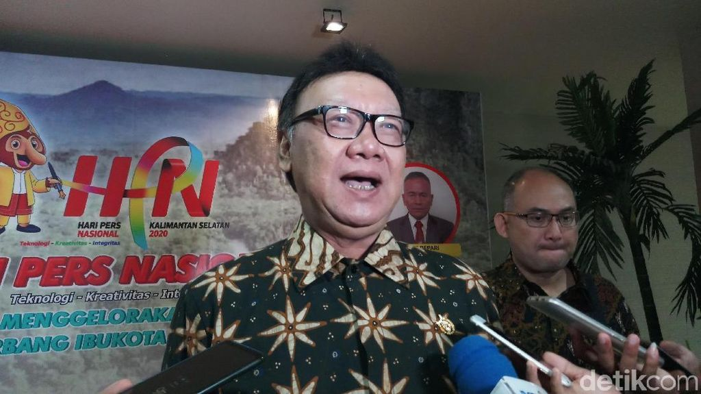 Tjahjo Kumolo Minta ASN Solid dan Setia Pancasila Seperti Prajurit TNI