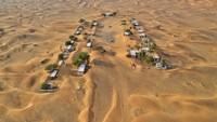 Desa ini ada di Uni Emirat Arab. Desa misterius itu bernama Al Madam. Rumah-rumah tua itu masih terlihat, tapi pasir masuk melalui jendela, mengisi halaman, dan menyapu perabotannya (Foto: CNN)