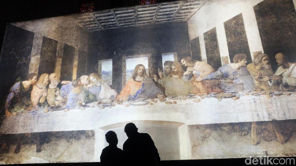 Masih Pandemi, Perjamuan Terakhir Leonardo da Vinci Bisa Dilihat Publik