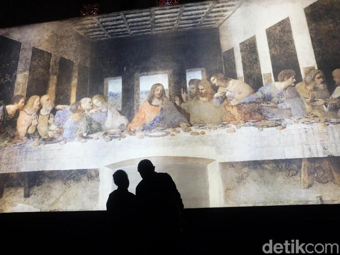 Pameran Seni Leonardo Opera Omnia Karya Leonardo da Vinci di Jakarta