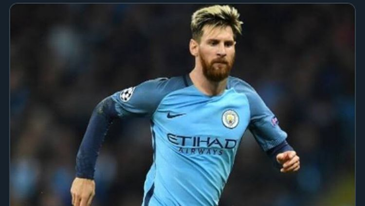 Ramai Meme Messi Usai Barcelona Keok dari Bilbao