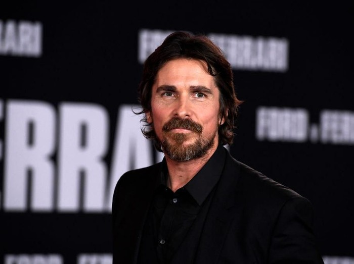 HOLLYWOOD, CALIFORNIA - NOVEMBER 04: Christian Bale attends the Premiere Of FOXs Ford V Ferrari at TCL Chinese Theatre on November 04, 2019 in Hollywood, California. (Photo by Frazer Harrison/Getty Images)