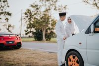 Viral Foto Pernikahan Dianggap Aneh, Kisah Cinta Pasangan Ini Mirip FTV