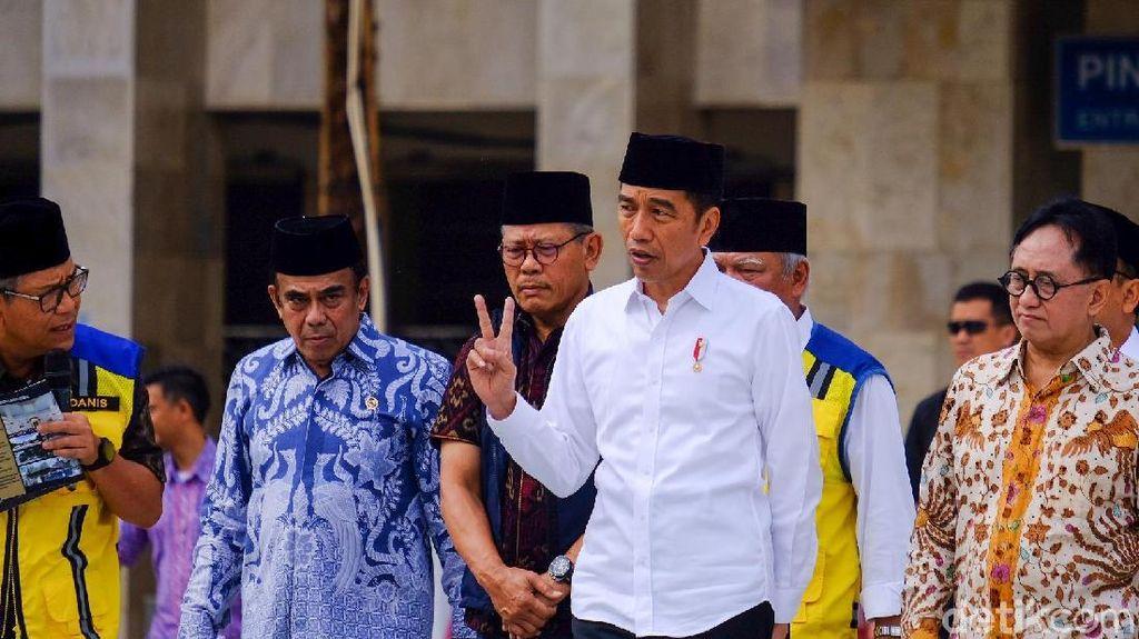 Jokowi Resmikan Rehabilitasi Madrasah di Pekanbaru
