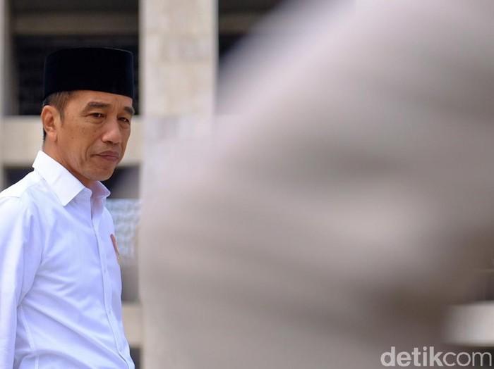 Presiden Joko Widodo (Andhika Prasetia - detikcom)