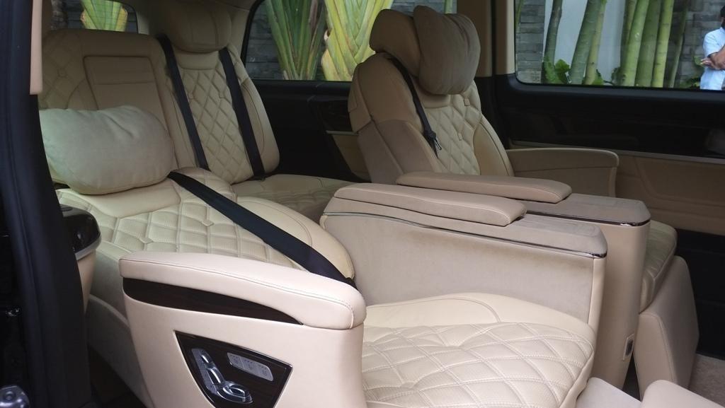Mercedes Benz New Vito Kustomisasi Lombardi, Sultan Abiss!