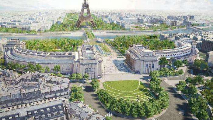 Rancangan proyek Paris untuk tahun 2024.
