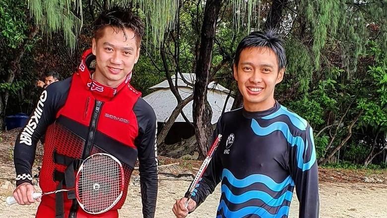 Kevin Sanjaya di Kepulauan Seribu