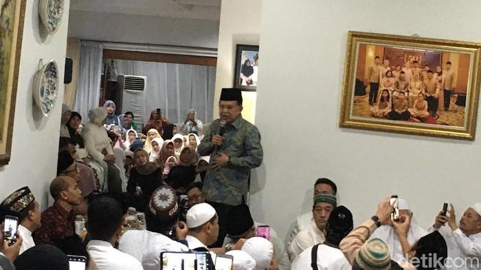 JK dan Sandiaga Uno hadiri tahlilan Gus Sholah