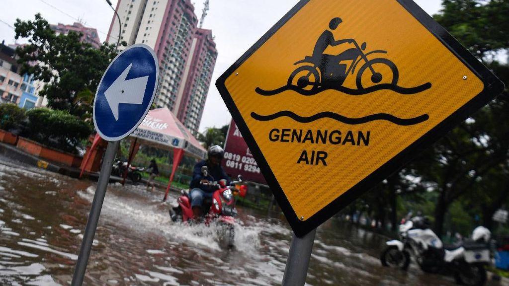 Sejumlah Kelurahan Sudah Surut, Ini Update Banjir Jakarta Pukul 18.00 WIB