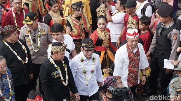 Wishnutama didampingi Walikota Bogor, Bima Arya