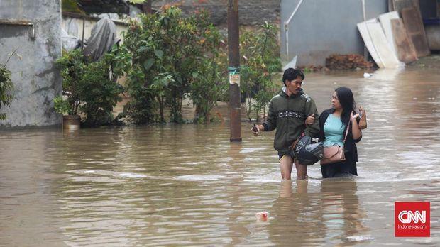 Jakarta Banjir Lagi, Anies Diminta Evaluasi Kebijakan