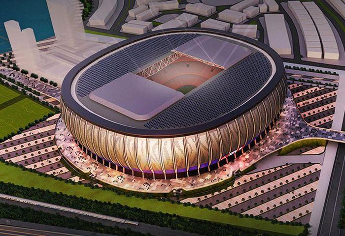WIKA Gedung sebagai anak perusahaan PT Wijaya Karya (Persero) Tbk dipercaya sebagai lead kontraktor menggarap proyek Jakarta International Stadium senilai Rp 4,08 triliun. Istimewa/PT Wijaya Karya (Persero) Tbk.