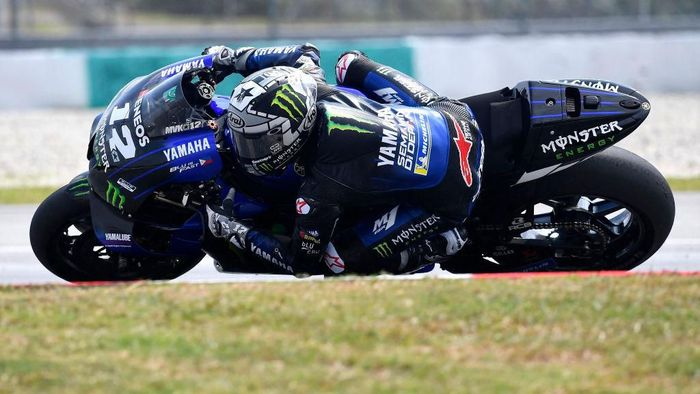 KUALA LUMPUR, MALAYSIA - FEBRUARY 07:  Maverick Vinales of Spain and Monster Energy Yamaha MotoGP Team          