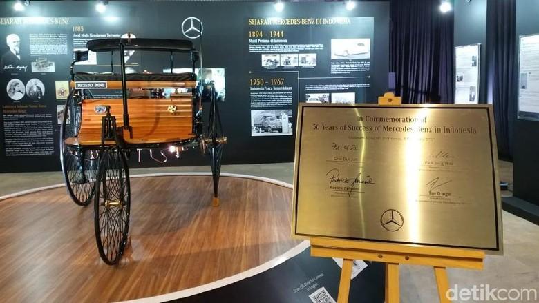 mobil pertama di dunia hadir di Museum Nasional