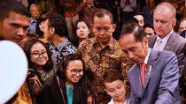 Istana Bicara Foto Jokowi Salaman ke Politikus Australia Berpin Bintang Kejora