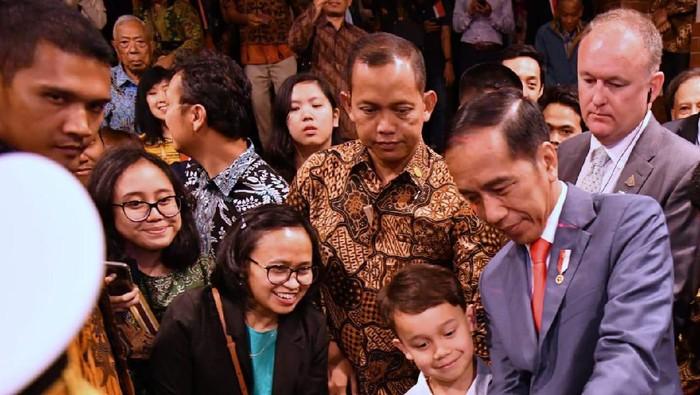 Presiden Jokowi di Canberra