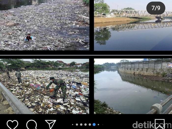 Postingan Ridwan Kamil soal sungai citarum