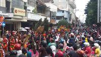 Jatilan-Reog Ikut Meriahkan Karnaval Cap Go Meh di Magelang