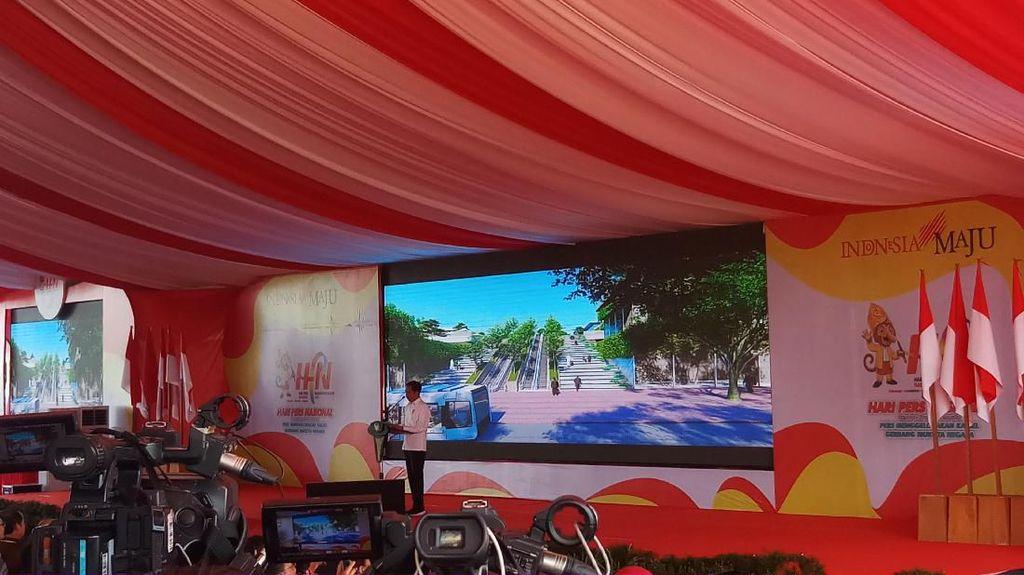 Jokowi Harap Pers Berperan Besar dalam Pilkada 2020