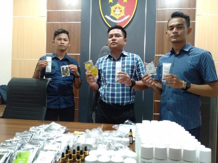 kosmetik ilegal ditangkap polres berau
