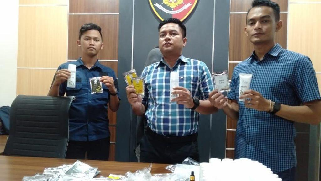 Polisi Berau Ungkap Penjualan Kosmetik Ilegal Beromzet Rp 30 Juta Per Bulan