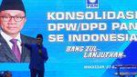 Momen Zulhas Sampaikan Pidato Politik di Konsolidasi DPD-DPW PAN