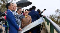 Kunjungi Mount Ainslie, Jokowi Pelajari Pembangunan Ibu Kota dari Australia
