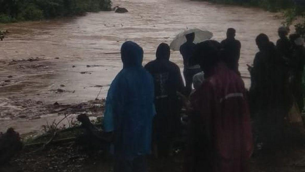 Anggota Babinsa Hilang Terseret Arus di Sungai Yeh Ho Tabanan Bali