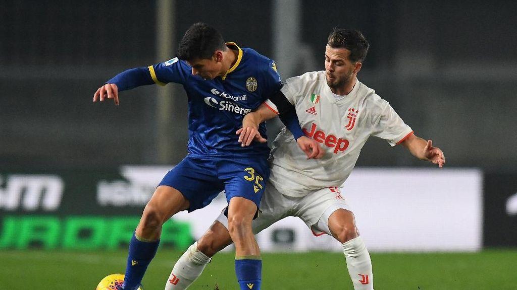 Babak Pertama Verona vs Juventus: Skor Kacamata, Sama Kuat