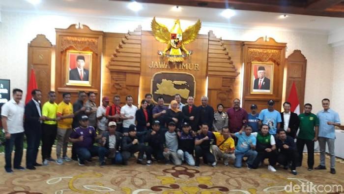 Sambut Piala Gubernur Jatim dan FIFA Word Cup U-20