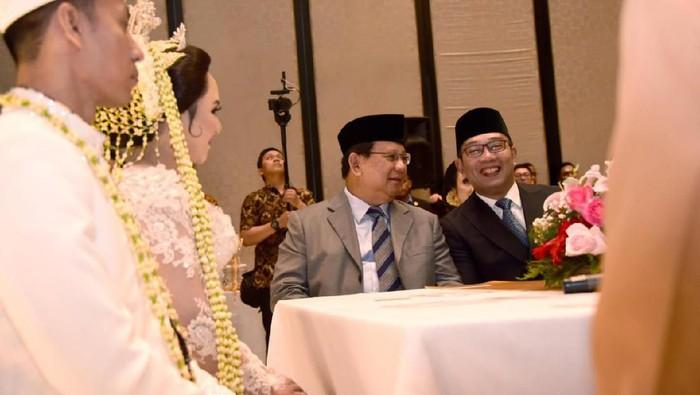 Ridwan Kamil bertemu Prabowo Subianto