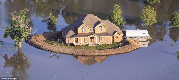 Rumah ini berlokasi di Mississippi. Istimewa/Dok. Daily Mail.