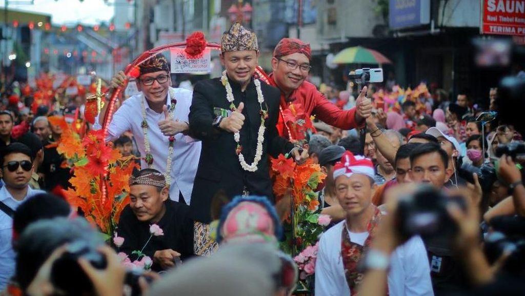 Bima Arya Sebut Bogor Street Festival Cap Go Meh Bukti Kerukunan RI