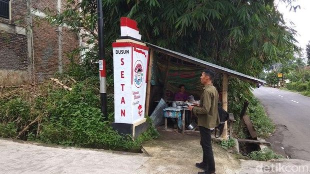 Ada Dusun Setan yang Tak Horror di Magelang