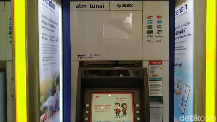 ATM Rp 20 ribuan di Sentra Mandiri, Menteng, Jakarta Pusat (Sachril Agustin Berutu/detikcom)