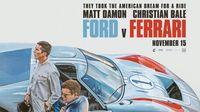 Poster Film Ford V Ferrari yang dapat dua Piala Oscar 2020