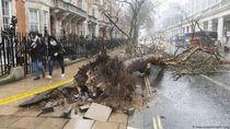 Begini Dampak Badai Sabine yang Porak-porandakan Eropa
