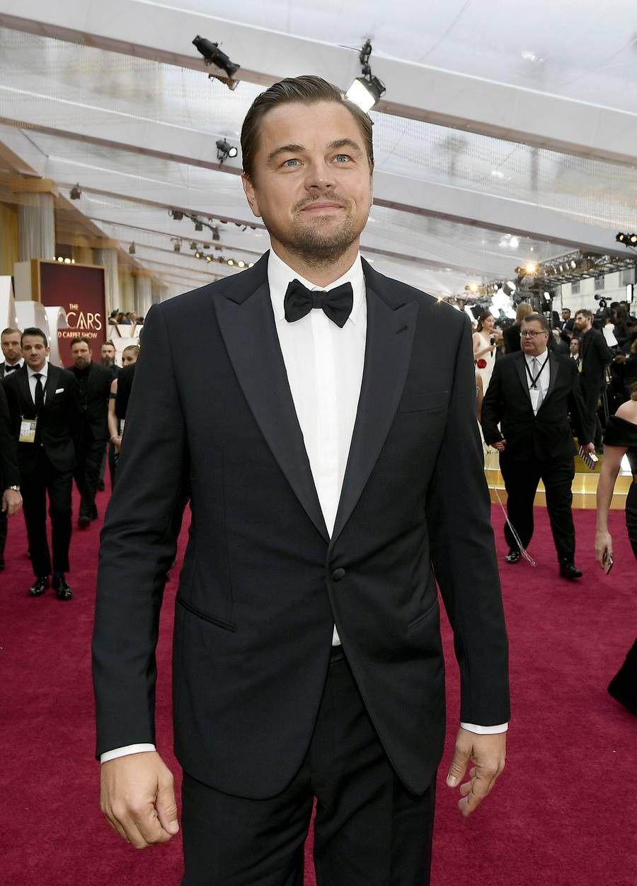 HOLLYWOOD, CALIFORNIA - FEBRUARY 09: Leonardo DiCaprio  attends the 92nd Annual Academy Awards at Hollywood and Highland on February 09, 2020 in Hollywood, California. (Photo by Kevork Djansezian/Getty Images)