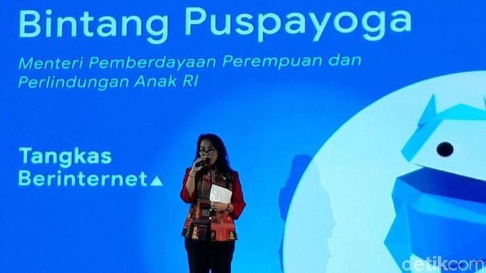 Menteri PPPA I Gusti Ayu Bintang Darmawati (Foto: Rahel Narda/detikcom)