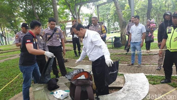 Penemuan Bayi di Taman Menteng Bintaro