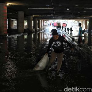 Underpass Kemayoran Sempat Banjir, Biang Keroknya Drainase?