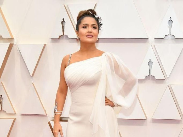 HOLLYWOOD, CALIFORNIA - FEBRUARY 09: Salma Hayek Pinault attends the 92nd Annual Academy Awards at Hollywood and Highland on February 09, 2020 in Hollywood, California. (Photo by Amy Sussman/Getty Images)