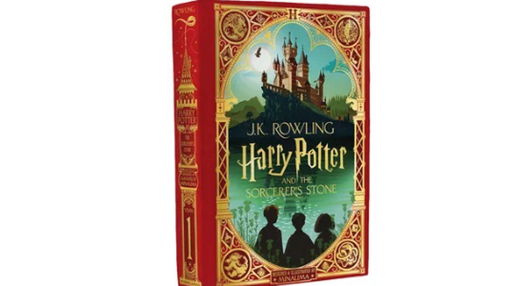 Sampul Terbaru Harry Potter dan Batu Bertuah Lebih Ciamik!