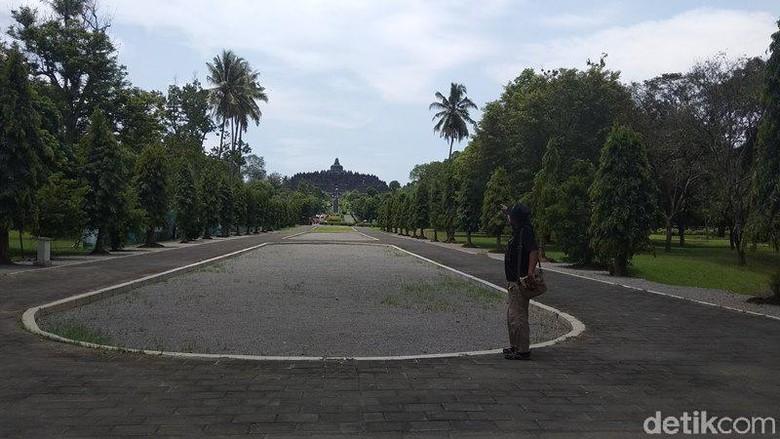 Balai konservasi dan cagar budaya Candi Borobudur.