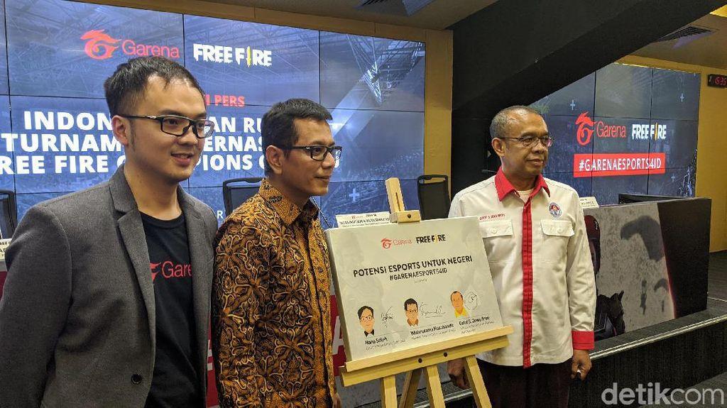 RI Jangan Cuma Jadi Penonton Kejuaraan Free Fire Internasional