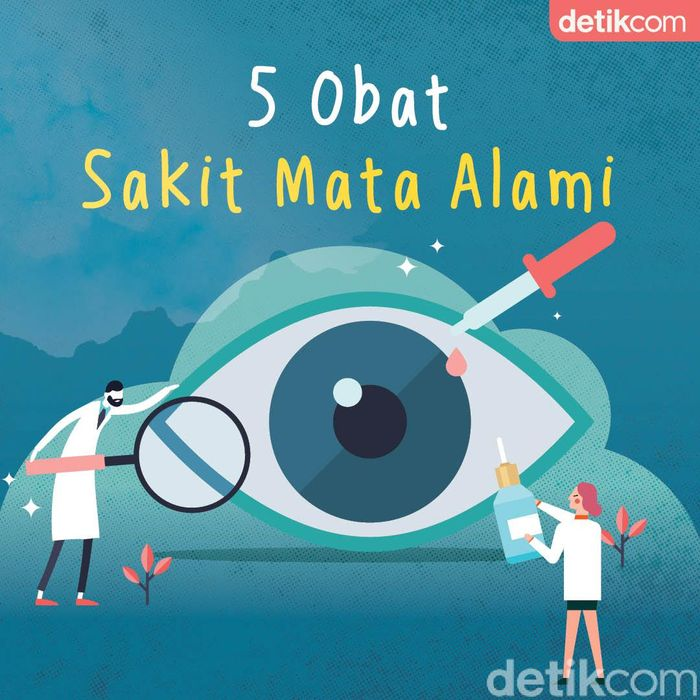5 Obat Sakit Mata Alami