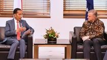 Jokowi Bertemu Ketua Partai Oposisi Australia, Ini yang Dibahas