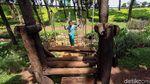 Asyiknya Bermain di Taman Kembang Kerep Jakbar